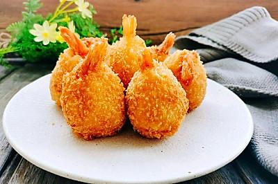 十全十美凤尾虾球