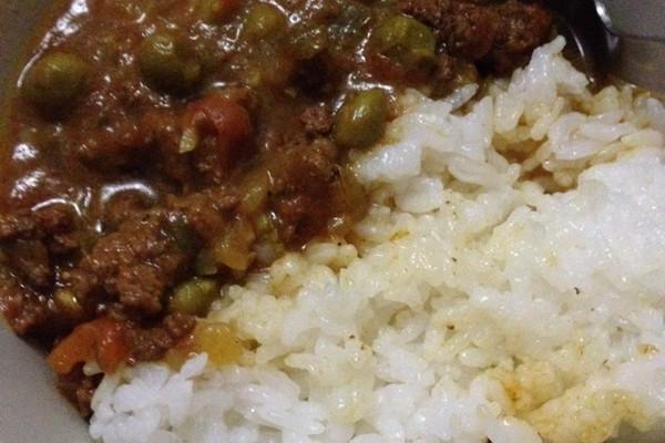 慢炖咖喱青豆牛肉糜的做法