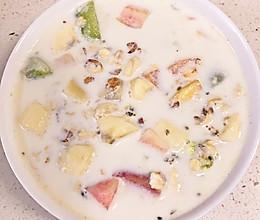 水果燕麦牛奶 | 早餐 | 快手的做法