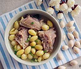 白果老鸭汤的做法