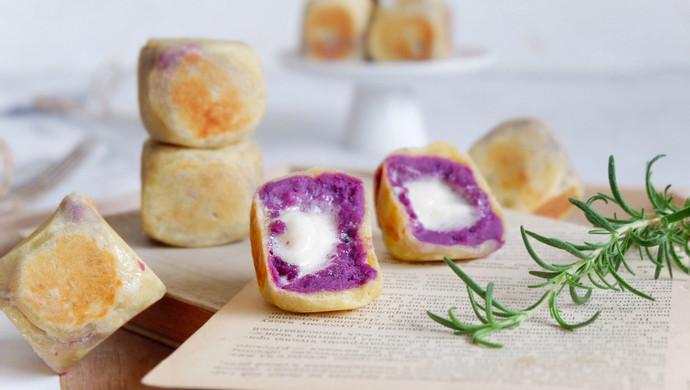 棉花糖紫薯仙豆糕