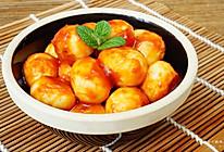 茄汁鹌鹑蛋#夏日时光#的做法