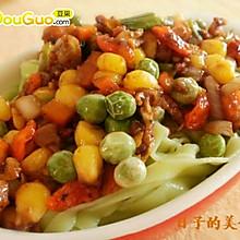 菠菜汁面条