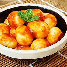 茄汁鹌鹑蛋#夏日时光#