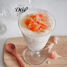 红柚酸奶布丁