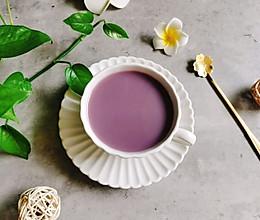 紫薯燕麦豆浆#我要上首焦#的做法