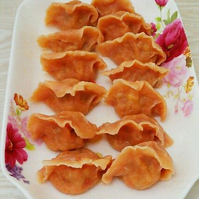 西红柿鸡蛋馅饺子