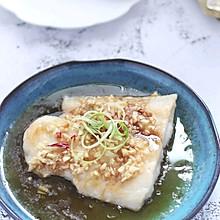 #美味烤箱菜,就等你来做!#清蒸蒜香龙利鱼