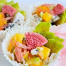 牛油果水果沙拉 素食
