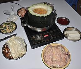 冬瓜火锅、冬瓜盅火锅的做法的做法