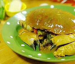 咖喱蟹丨吮着吃的咖喱香【微体兔菜谱】的做法