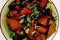 素炖香菇白萝卜的做法