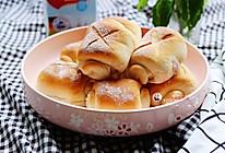 淡奶油芋泥面包卷(烫种)的做法