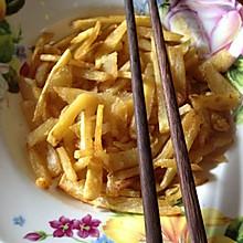 简单制作薯条