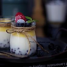 #美食视频挑战赛# 舌尖上的香滑,果味红豆酸奶冻
