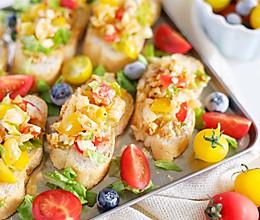 #厨房有维达洁净超省心#轻食真鳕沙拉法棍的做法