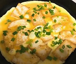 蛋液煎豆腐的做法