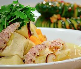皮皮虾炖豆腐的做法