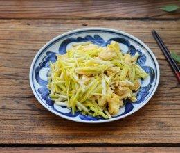 冬季第一鲜蒜黄炒鸡蛋的做法