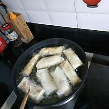 韭黄鲜肉春卷