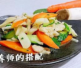 蜜桃爱营养师私厨:荸荠什锦炒肉片【抗癌、糖尿病食谱】的做法