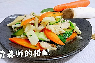 蜜桃愛營養師私廚:荸薺什錦炒肉片【抗癌、糖尿病食譜】