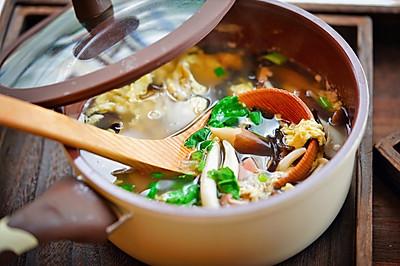 消脂瘦身杂菇汤