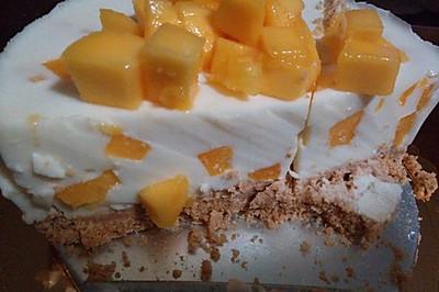 芒果慕斯蛋糕~免烤