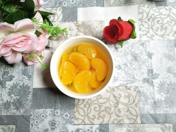 菊花橘子甜汤