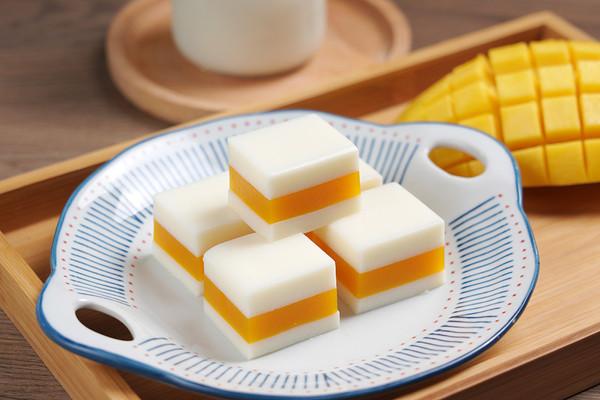 芒果牛奶千层糕【孔老师教做菜】