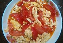 简单柿子炒鸡蛋的做法