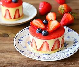 新手零失败—-草莓慕斯蛋糕的做法
