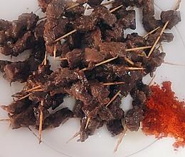 铁板羊肉串、牛肉串的做法