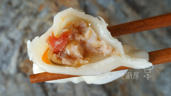 西红柿玉米鲜虾饺的做法