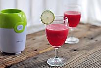 西瓜汁#无果汁·不夏天#的做法