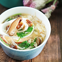 双菇蛋花汤