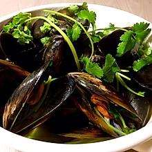 原汁Mussels(青口贝的原味做法)
