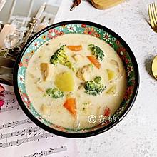 #洗手作羹汤#奶油炖菜