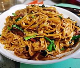 锦娘制——韭菜火腿炒面的做法