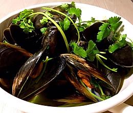原汁Mussels(青口贝的原味做法)的做法