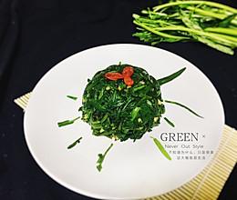 绿的诱惑一凉拌空心菜的做法