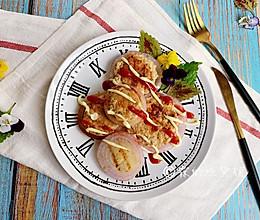 #肉食者联盟#鸡肉洋葱圈的做法