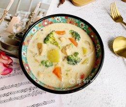 #洗手作羹汤#奶油炖菜的做法