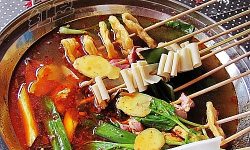 麻辣串串锅的做法