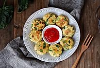 菠菜豆渣饼#做道好菜,自我宠爱!#的做法