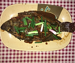 红烧福寿鱼(罗非鱼)的做法
