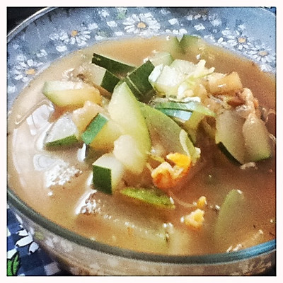 夏天的减肥汤--冬瓜虾米汤