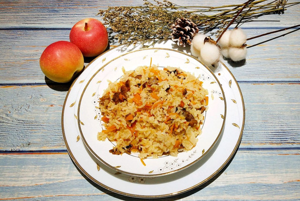 吃到最正宗的新疆羊肉抓饭的做法