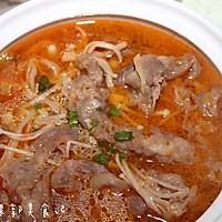 金针菇番茄肥牛锅的做法图解8