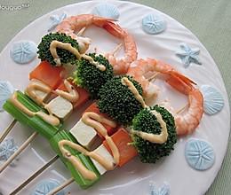时蔬沙拉串的做法